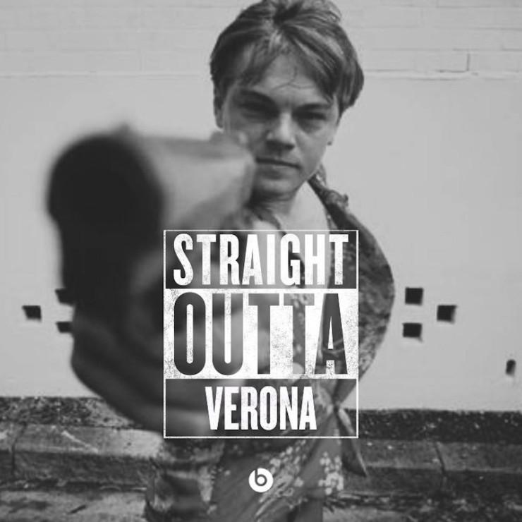 #StraightOutta geeky meme Shakespeare
