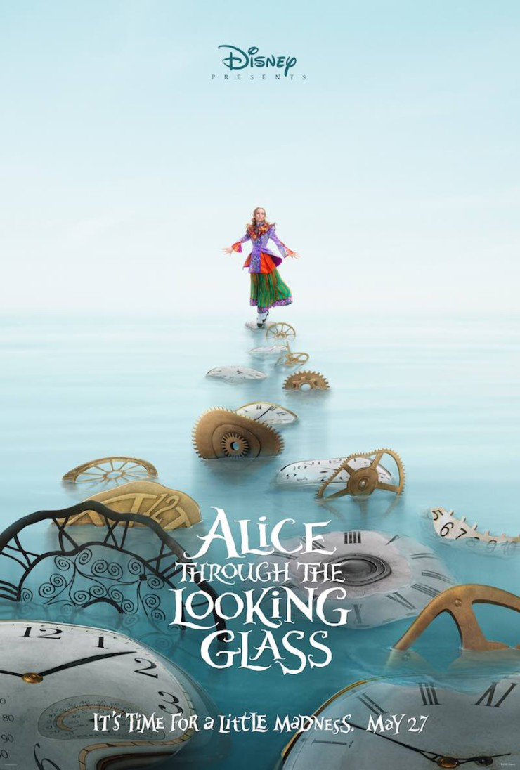 Alice Through the Looking Glass poster Disney D23 Expo