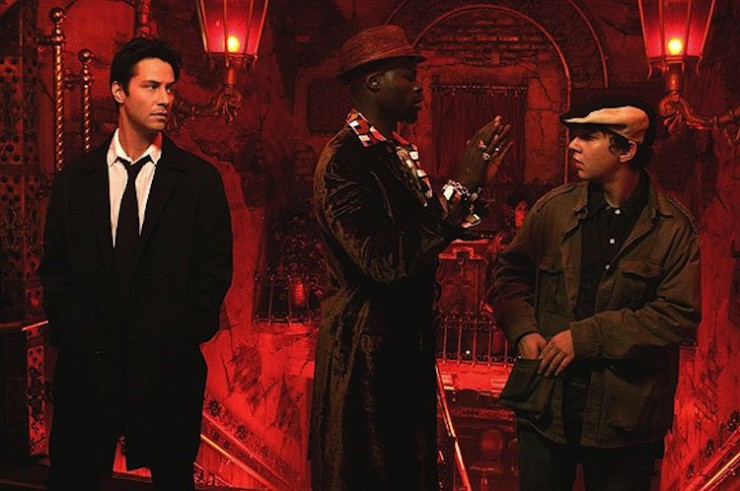 Constantine, Midnite, and Chas