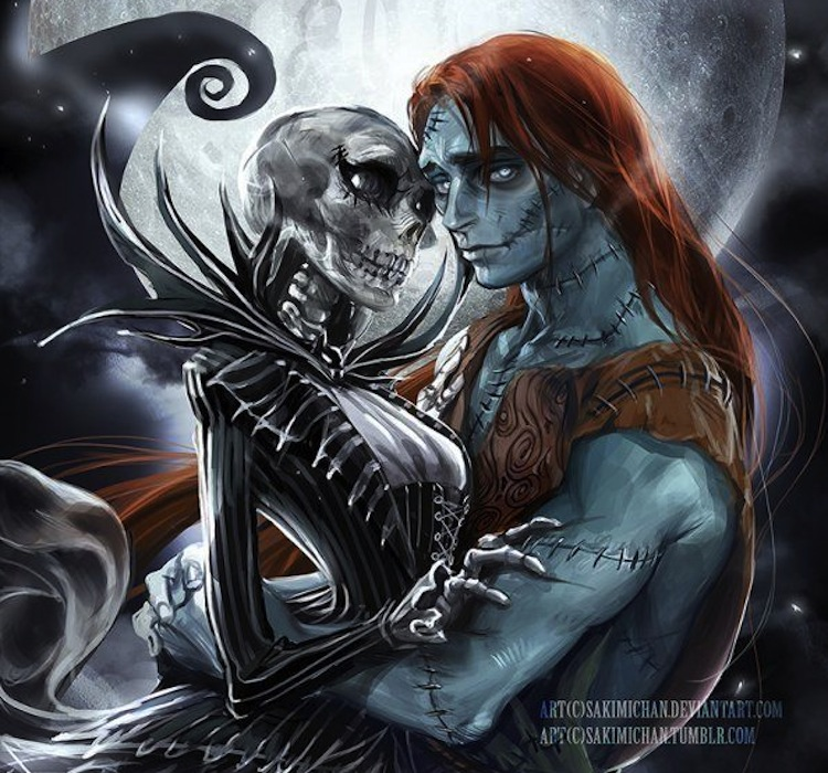 Genderswapped Sally and Jack Skellington are Simply Meant To Be ...