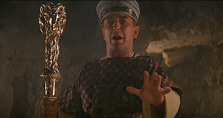 Belloq as Priest in Raider of the Lost Ark