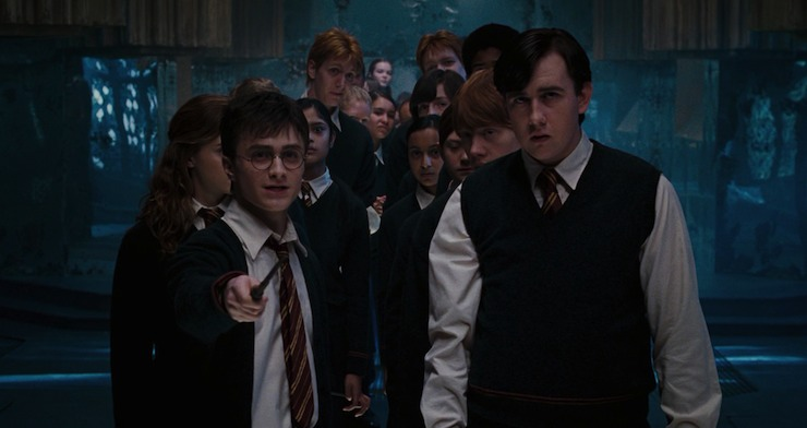 Harry Potter and the Order of Phoenix, Neville, Dumbledore's Army