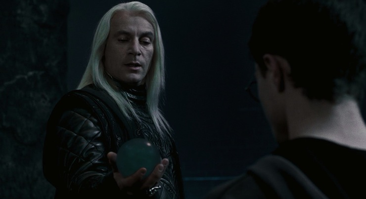Harry Potter and the Order of Phoenix, Lucius Malfoy