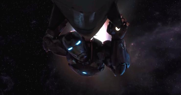 Iron Man nuke The Avengers sacrifice