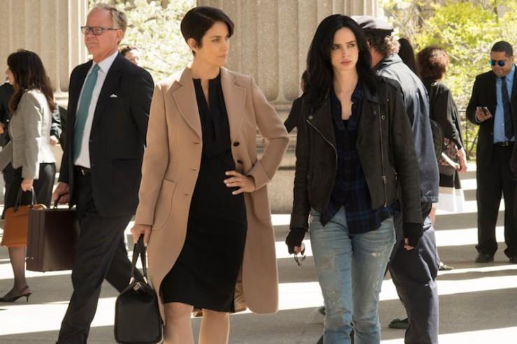 Marvel Netflix Jessica Jones first look photos