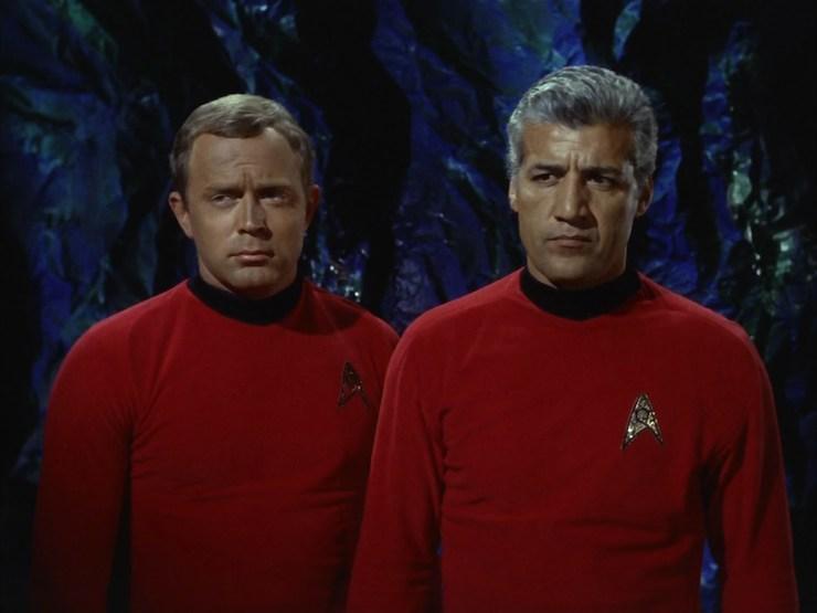 Star Trek Hes Dead Jim Adult Work Shirt