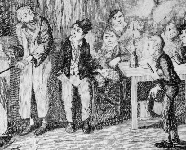 Dodger_introduces_Oliver_to_Fagin_by_Cruikshank_(detail)