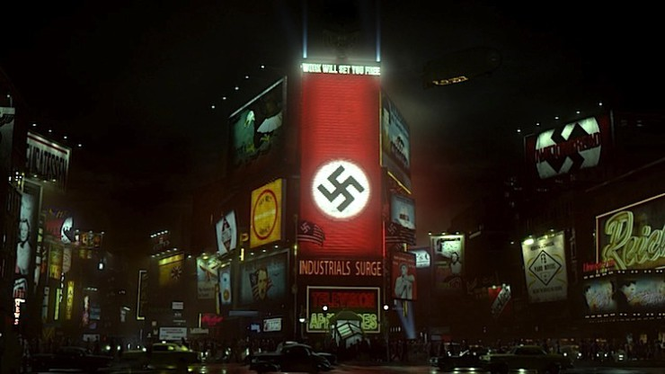 Times Square in The Man in the High Castle