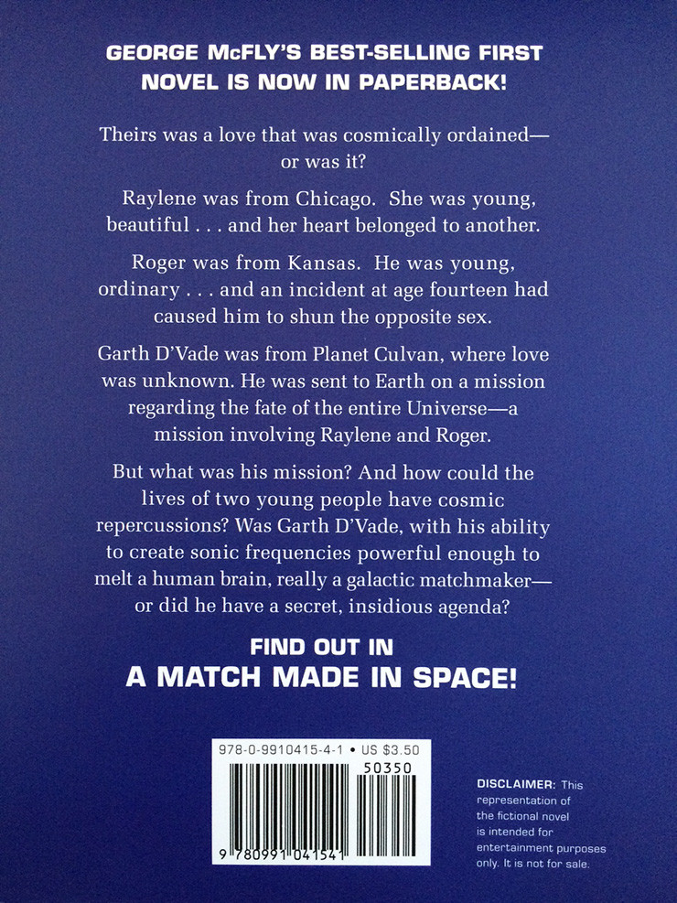 A Match Made in Space George McFly plot
