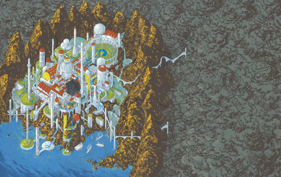 Plotted Le Guin Andrew DeGraff
