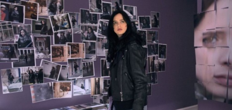 Jessica Jones Purple Man stalker photos