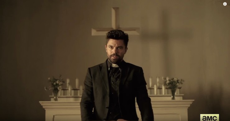 SFF adaptations movies TV Preacher AMC