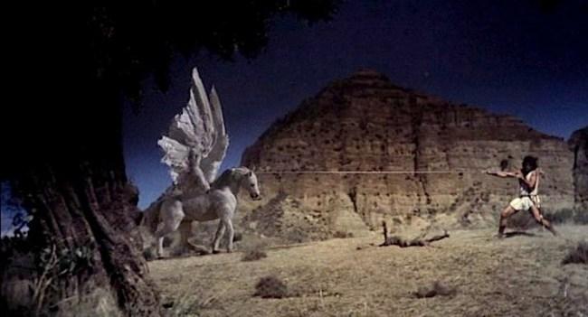 Pegasus in The Clash of the Titans