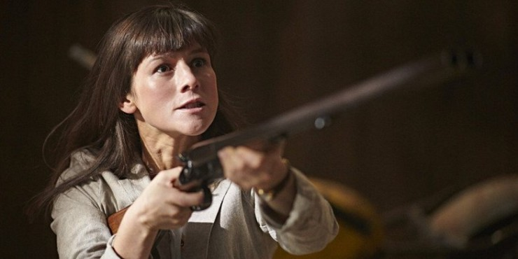Syfy Childhood's End Part 2 The Deceivers review Peretta gun