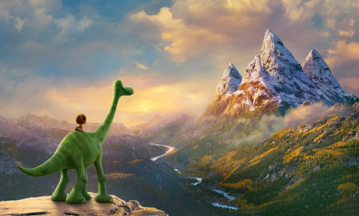 good dinosaur scenery