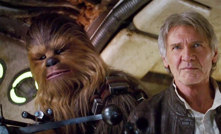 Star Wars Episode VII, the Force Awakens