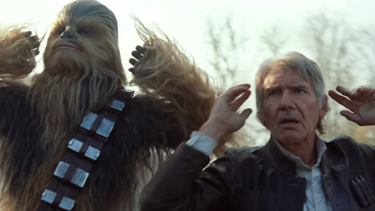The Force Awakens spoiler review