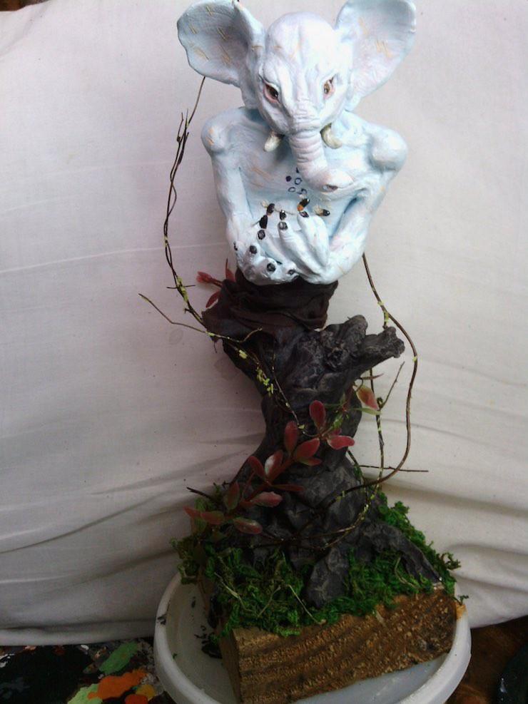 Barsk sculpture Pizlo