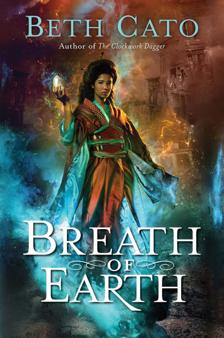Breath of Earth cover reveal Beth Cato