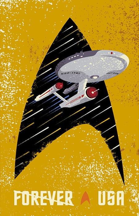 Star Trek Stamp 1