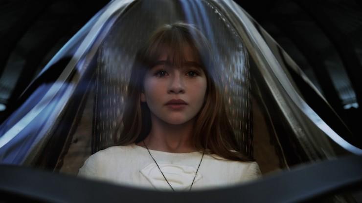 A Series of Unfortunate Events Netflix Violet Baudelaire Malina Weissman Supergirl