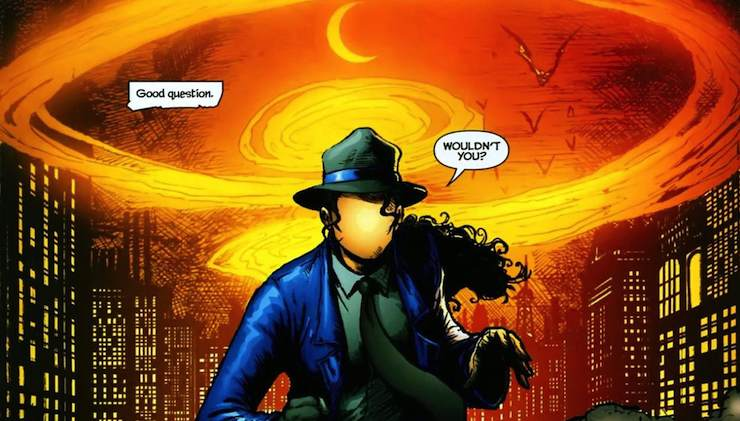 Renee Montoya, The Question