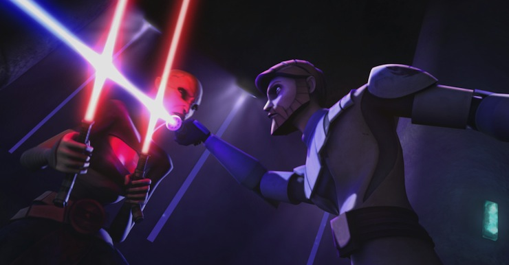 Obi-Wan Kenobi, Asajj Ventress, Clone Wars