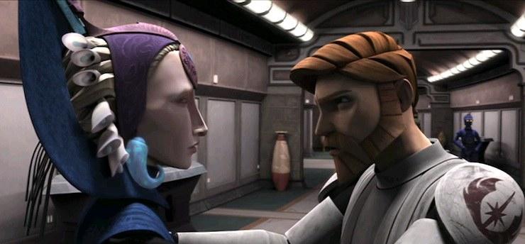 Obi-Wan Kenobi, Duchess Satine, Clone Wars