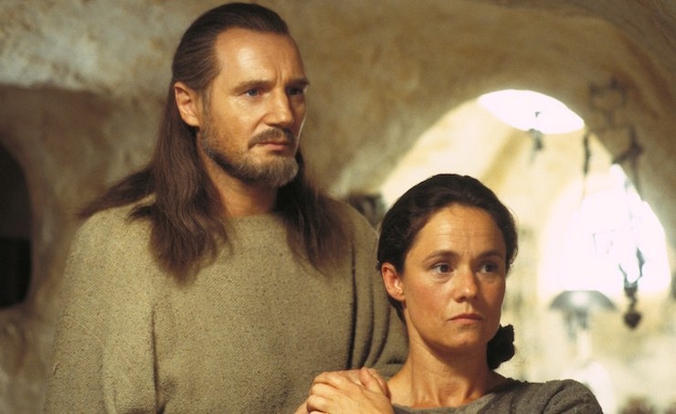Qui-Gon and Shmi Skywalker, Episode I, Star Wars: The Phantom Menace