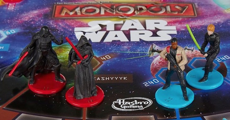 Star Wars Monopoly #WheresRey The Force Awakens wtf Hasbro