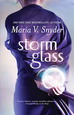 Storm Glass Maria V. Snyder weather magic