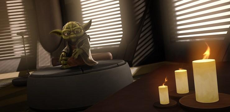 Yoda, Clone Wars