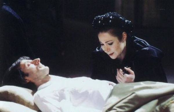 Zoë Wanamaker as spitfire Lady Anne in the BBC Shakespeare Collection version of Richard III.