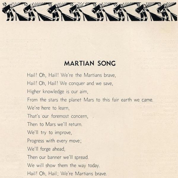 MartianSong