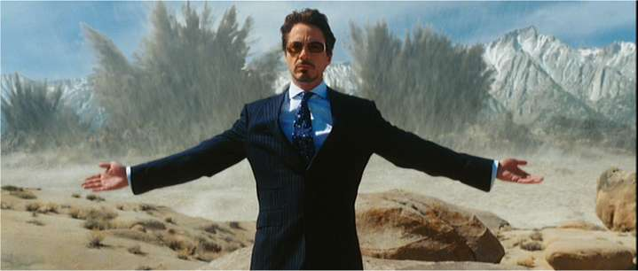 Tony Stark that's how america does it