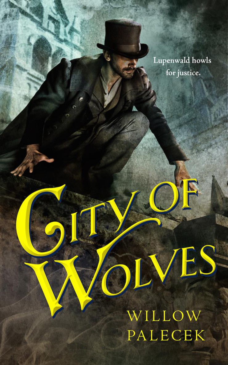 City of Wolves Tor.com Publishing cover art