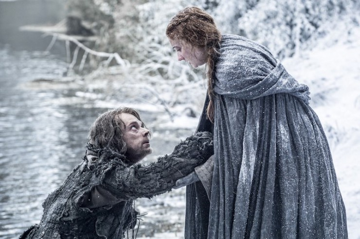 Game of Thrones season 6 photos Sansa Stark Theon Greyjoy