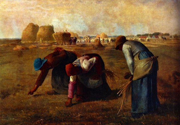 """The Gleaners"" by Jean-Francois Millet, 1857"