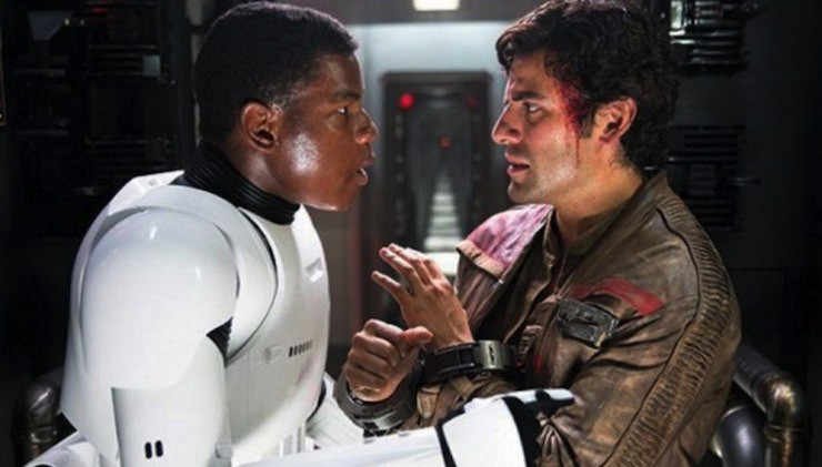 Finn and Poe, The Force Awakens
