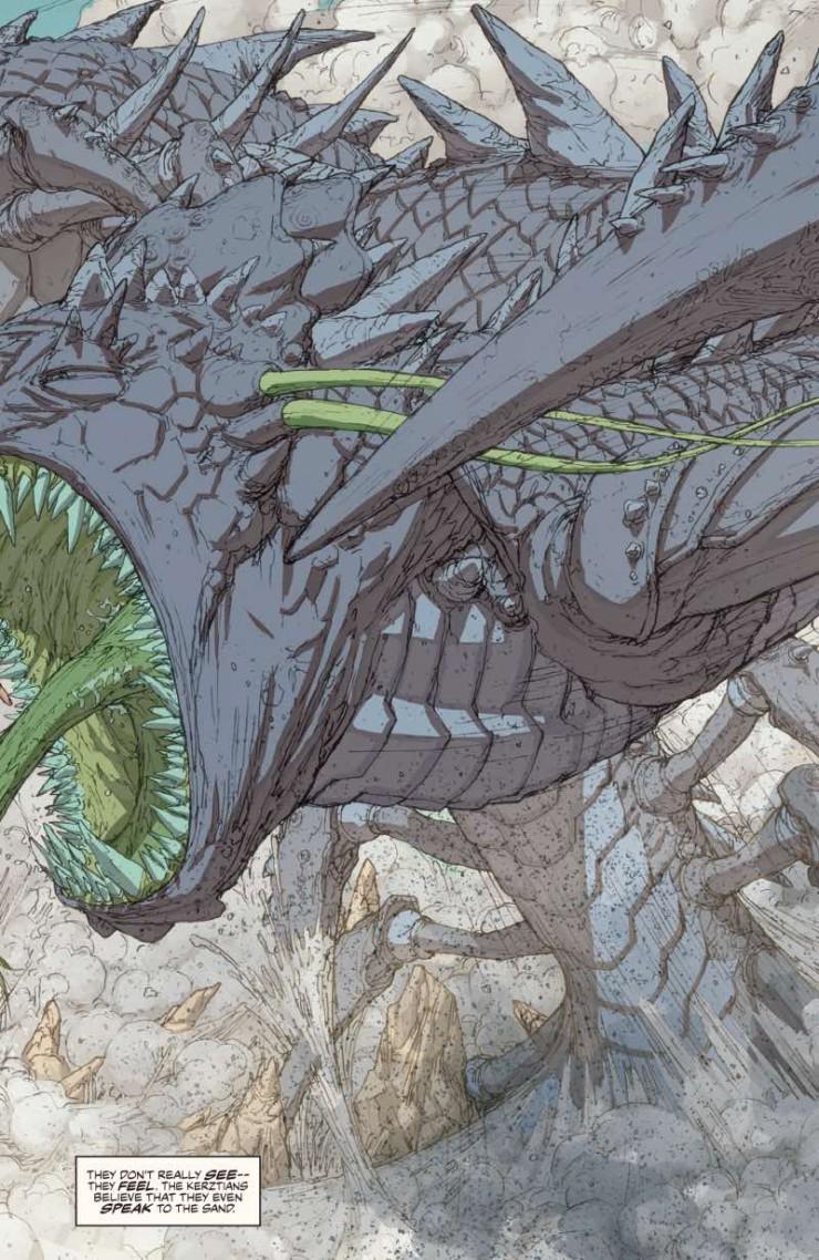Brandon Sanderson White Sand graphic novel preview art