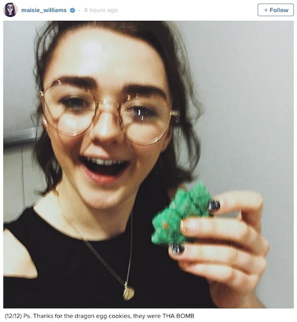 Maisie gets a dragon egg