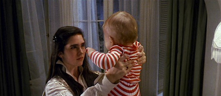 Sarah and Toby in Labyrinth