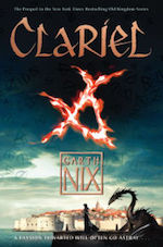 asexual ace characters sci-fi fantasy Clariel Garth Nix