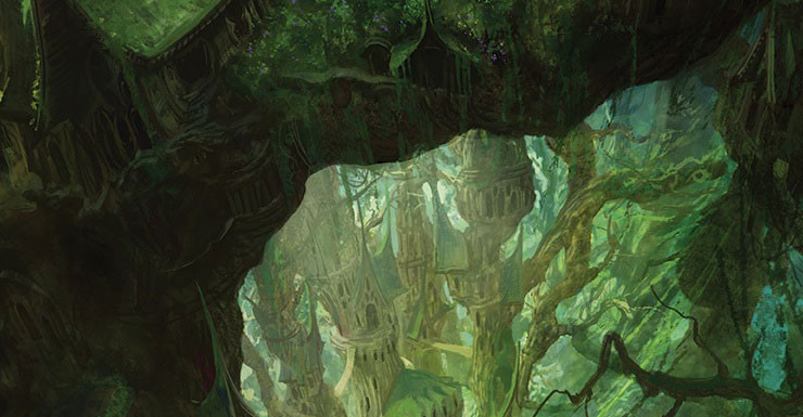 Art by Marc Simonetti for Crossroads of Canopy