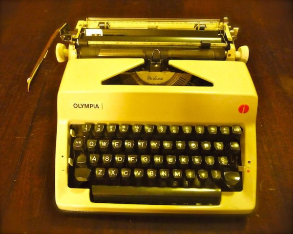 """Olympia SM9, made in West Germany (1971)--the newest in the """"fleet."""""""