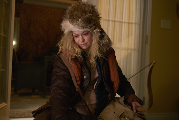 """Orphan Black 4x09 """"The Mitigation of Competition"""" television review Helena arrow"""