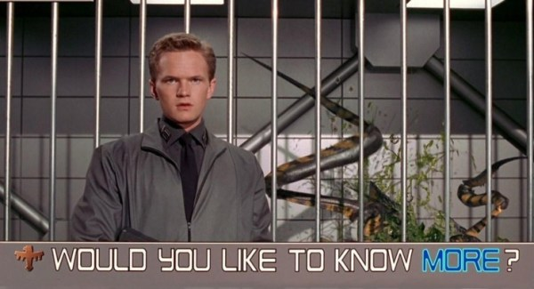 Neil Patrick Harris as Carl Jenkins in Starship Troopers (1997)