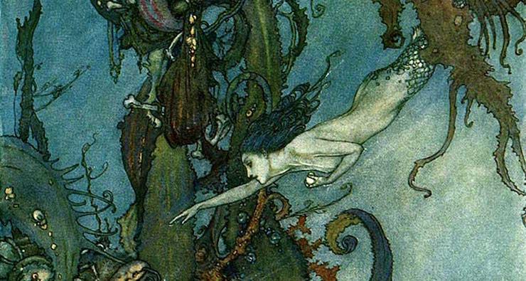 Kiss the Girls: Two Little Mermaids an Ocean Apart   Tor com