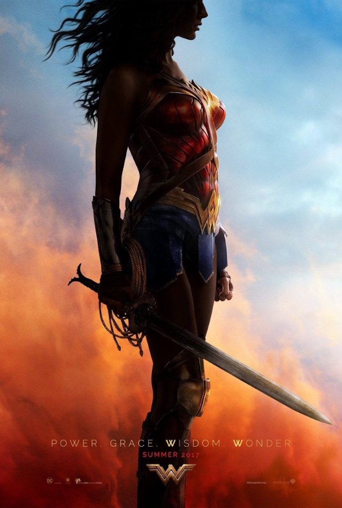 Wonder Woman Poster Full