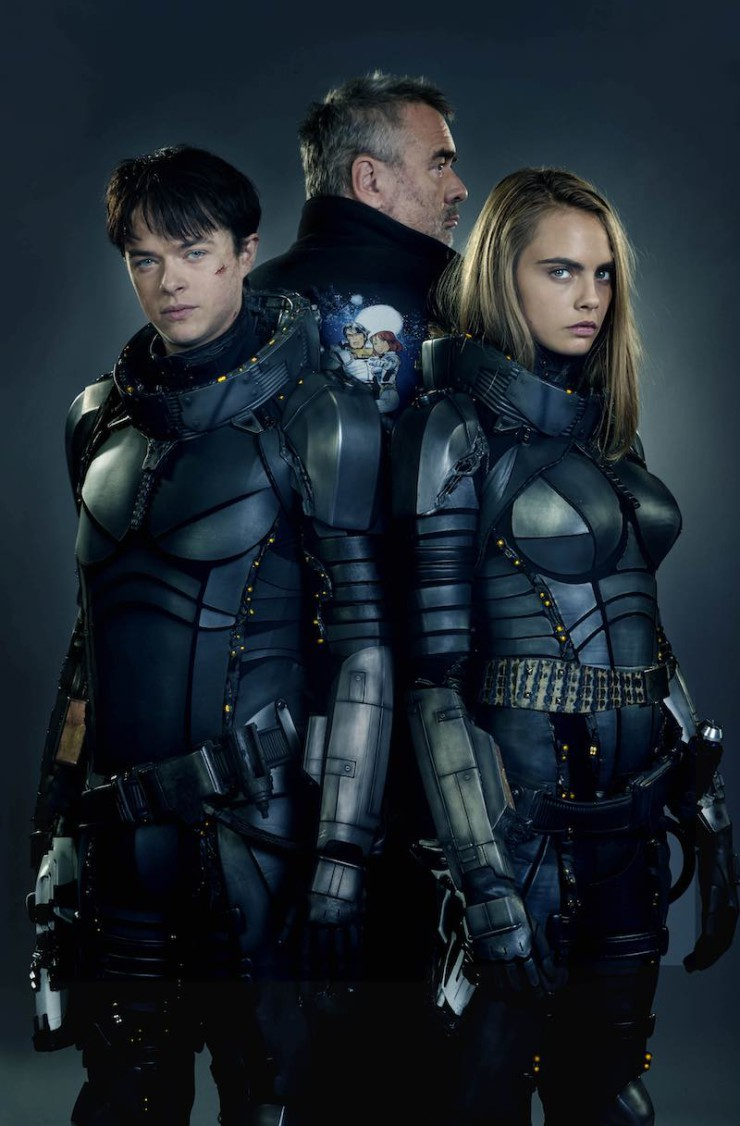 Valerian and the City of a Thousand Planets SDCC 2016